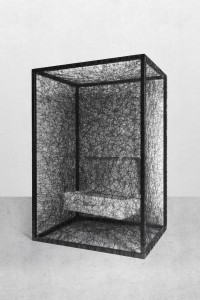 CHIHARU SHIOTA, State of Being (Suitcase), 2012