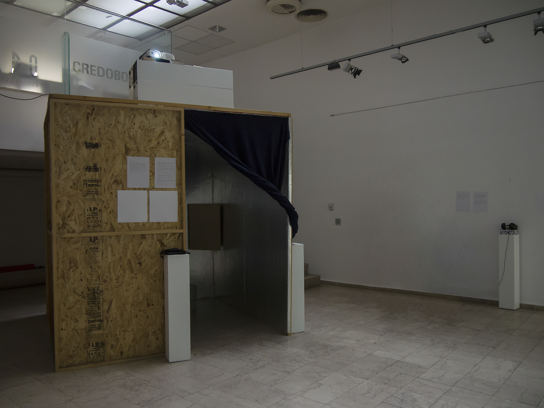 Инсталация за ехолокация, конструирана с помощта на Панчо Карамански