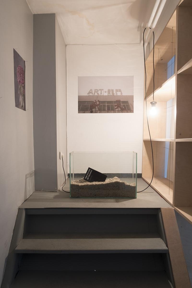 Творби на Гергана Петрова и Георги Георгиев от изложбата The Future Was Here
