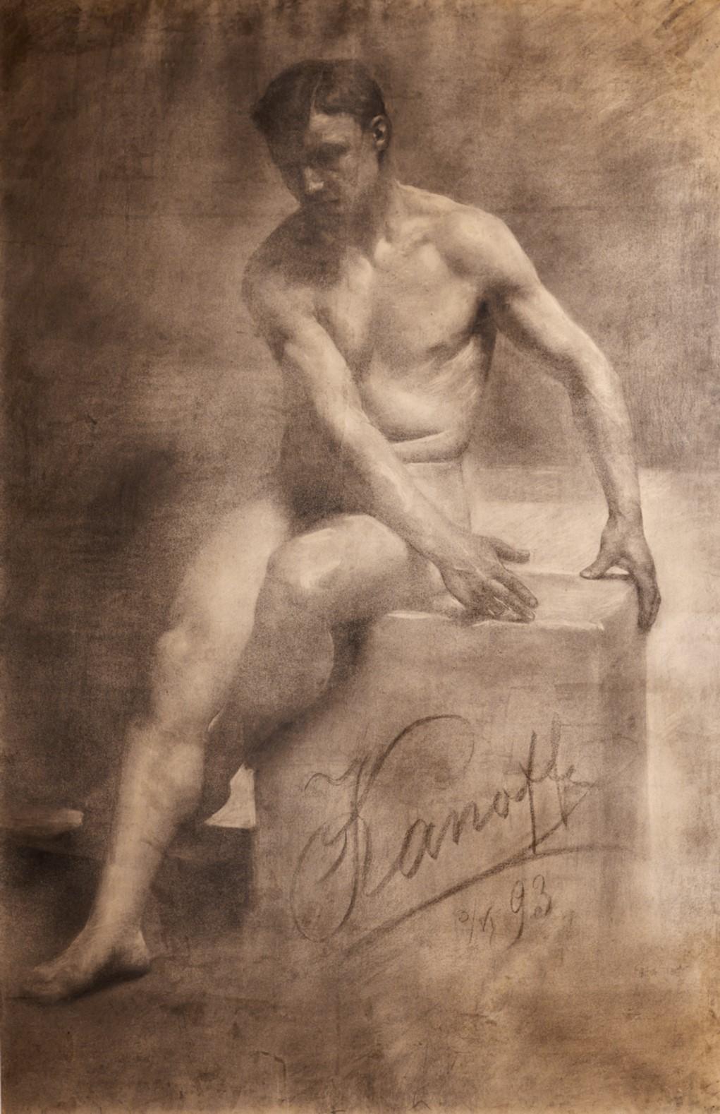 Голо тяло, от Никола Канов, 1893