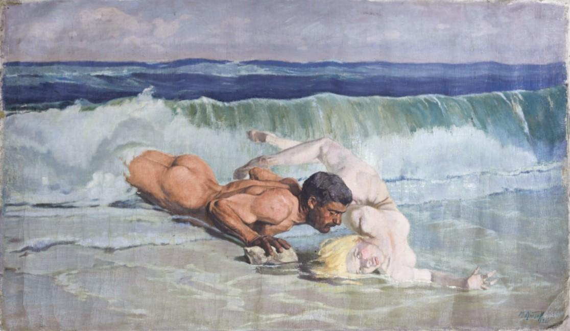 Игра на вълните, от Михаил Лютов, 1926