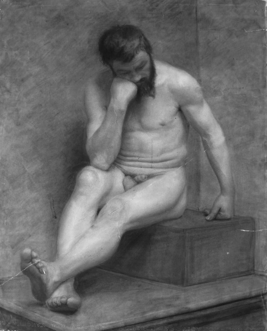 Мъжко тяло, от Георги Митов, 1895